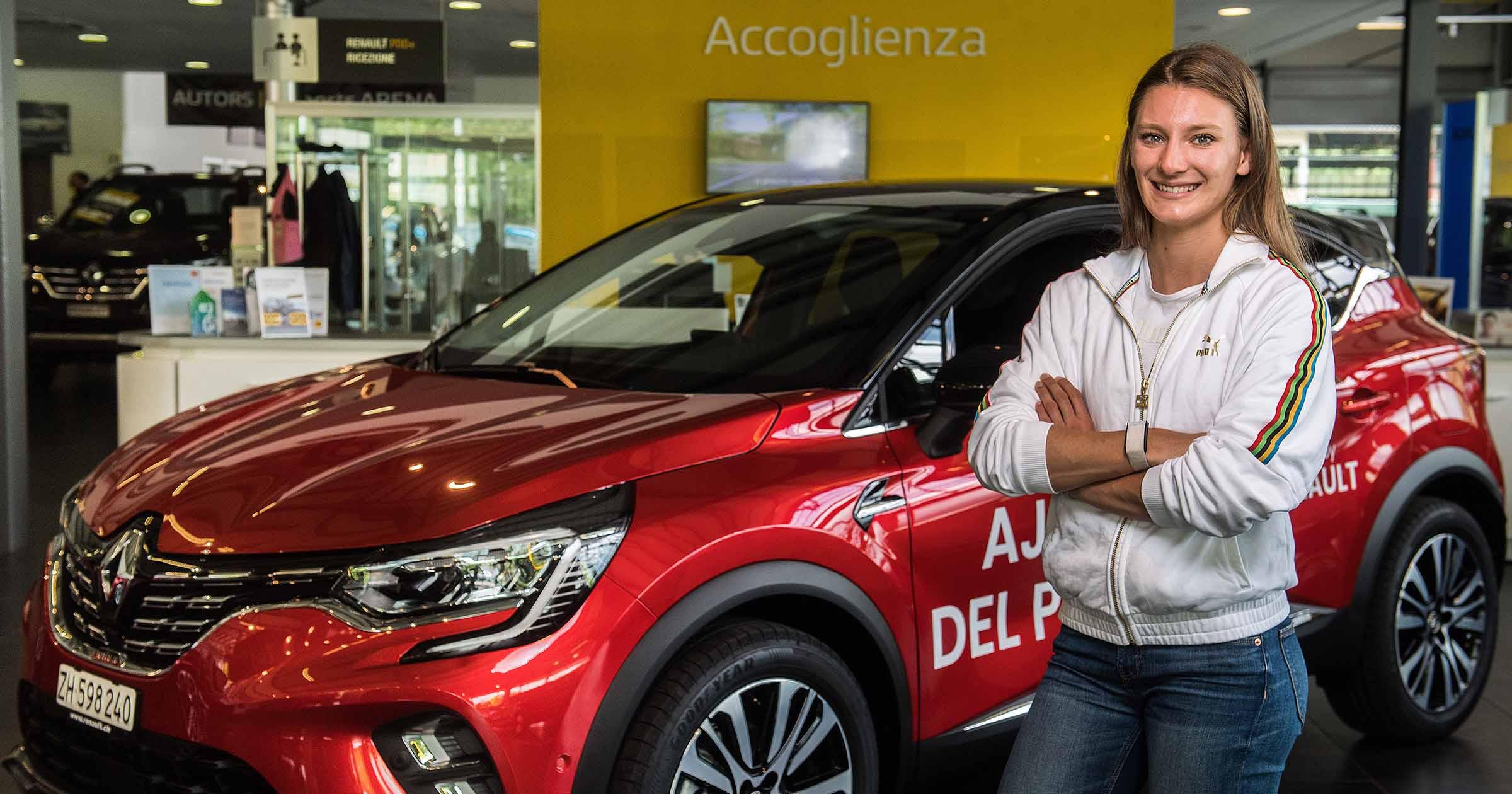 Consegna Ajla Del Ponte Ambassador Renault