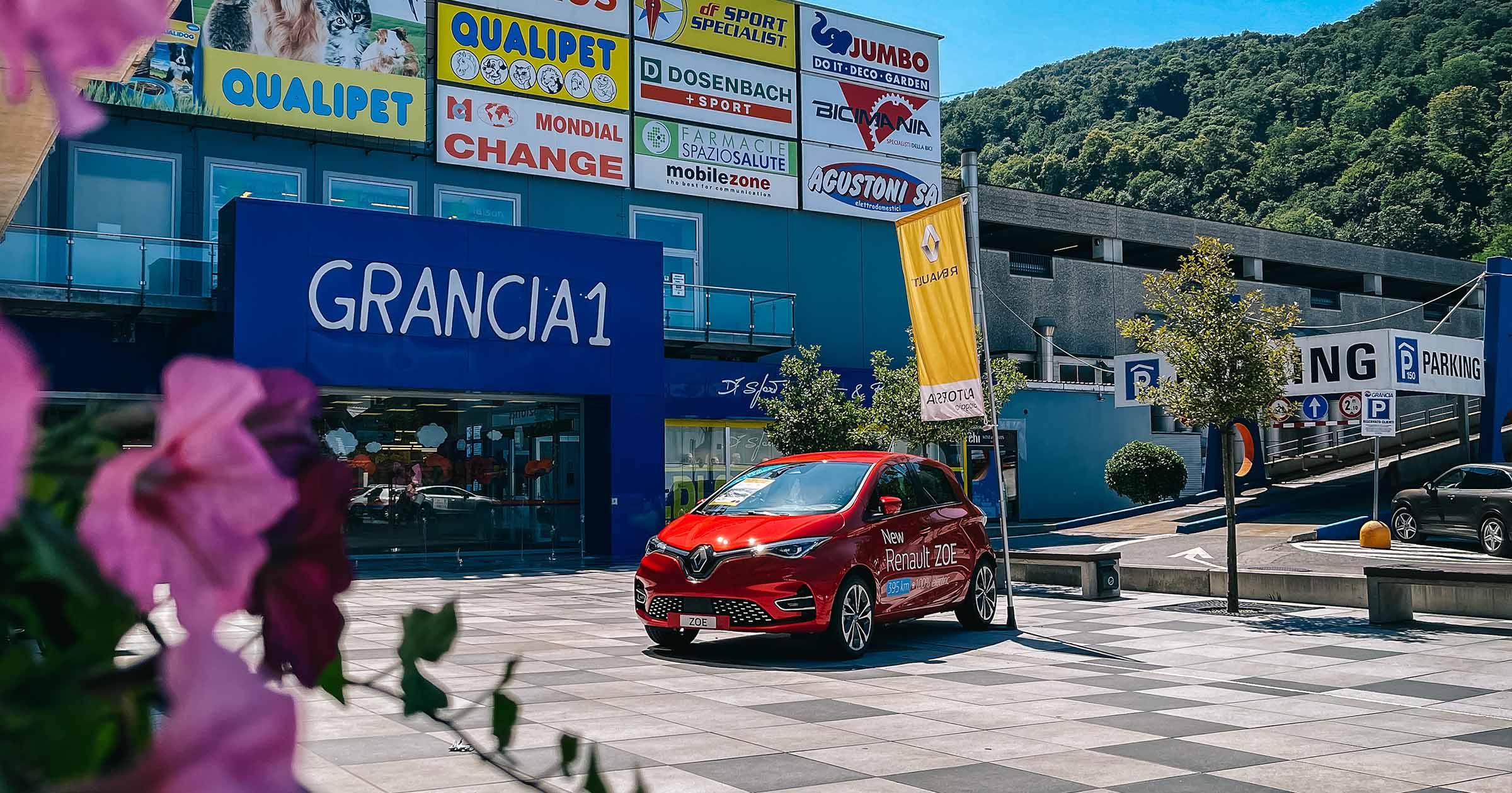 Cover Blog ZOE E-TECH Electric Parco Commerciale Grancia EXPO