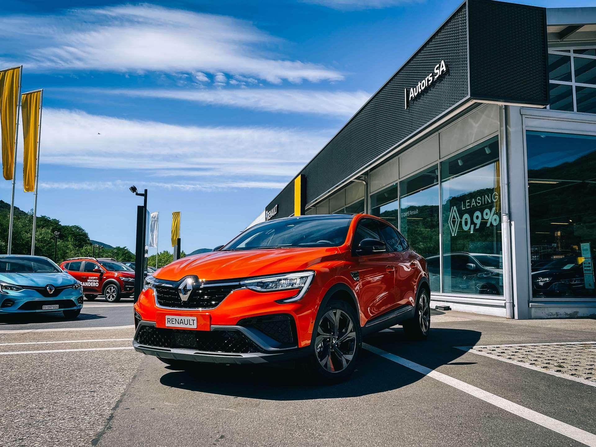 Renault Arkana Lugano Ticino