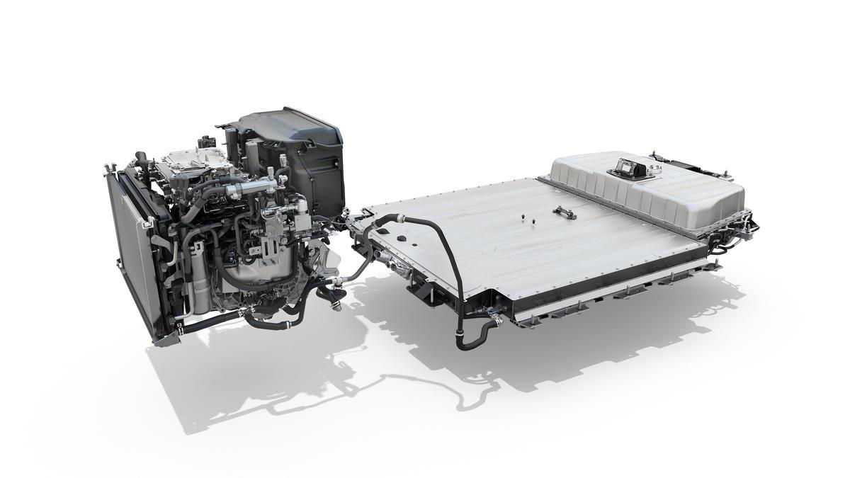 Motore e batteria nuova megane e-tech electric