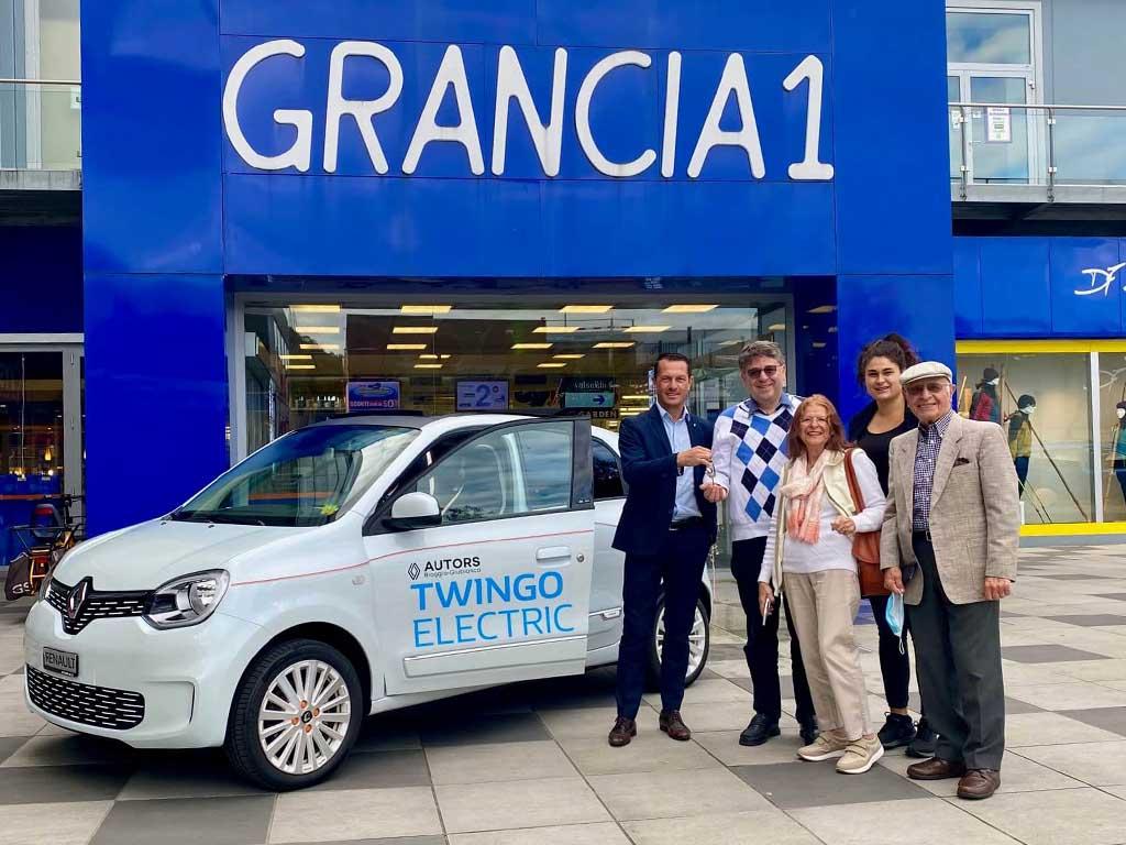 Vincintore Concorso Grancia & Vinci Renault
